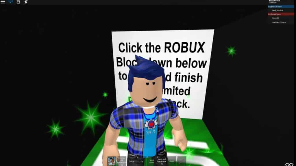 Robux quest for roblox
