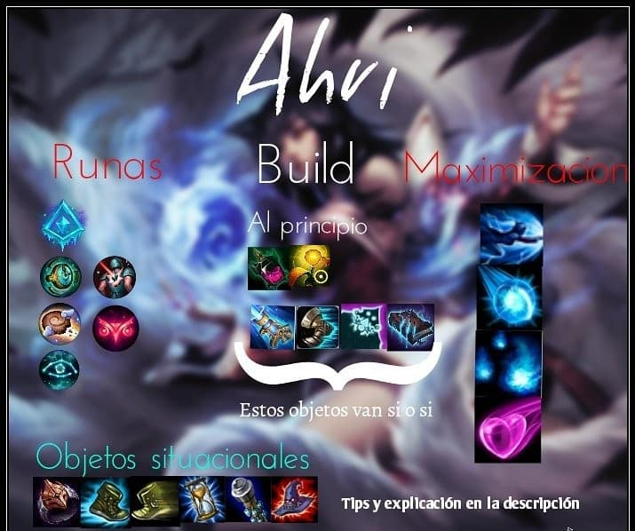 Como usar a Ahri de league of legends wild rift