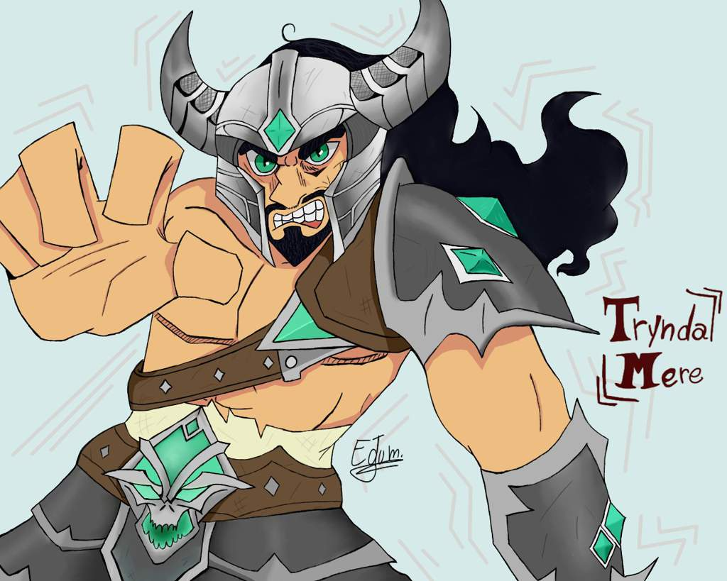 Imagenes de Tryndamere de league of legends wild rift