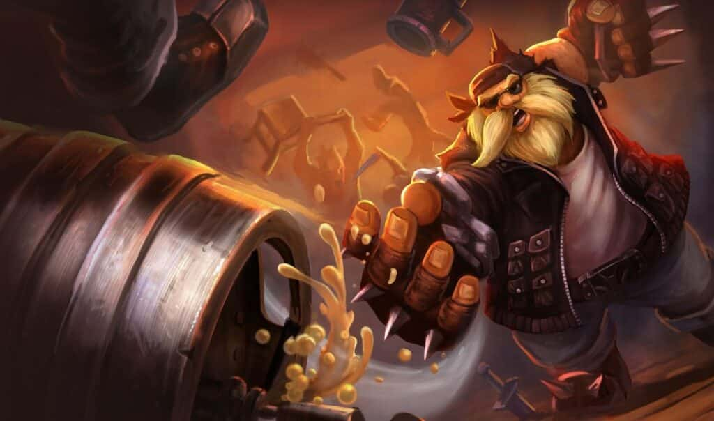 Imagenes de Gragas de league of legends wild rift