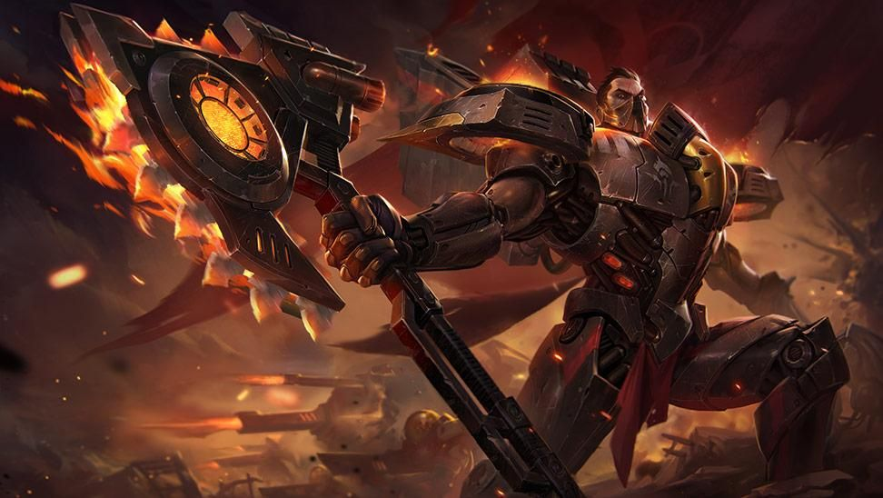 Imágenes de Darius de league of legends wild rift