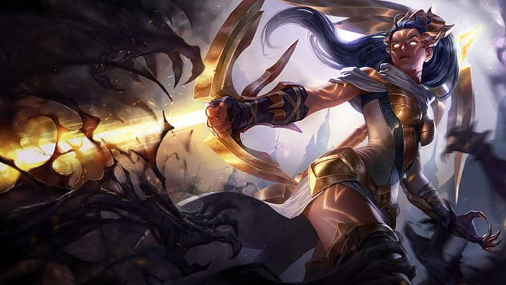 Imagenes de Vayne de league o legends wild rift
