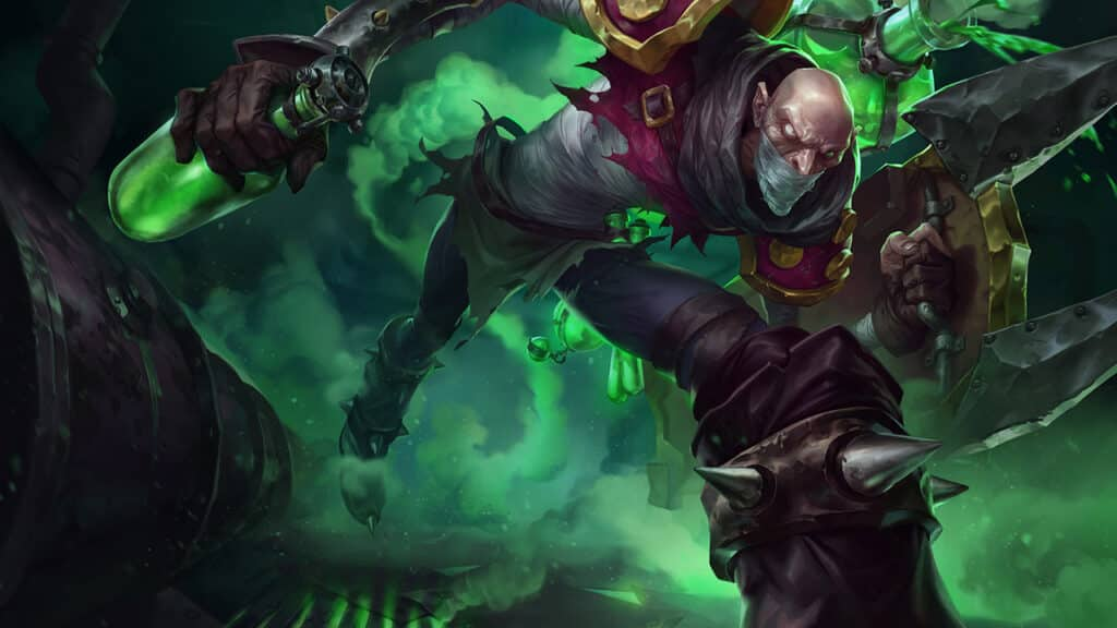 Como usar a singed de league of legends wild rift