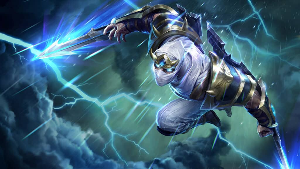 Imagenes de Zed de league o legends wild rift
